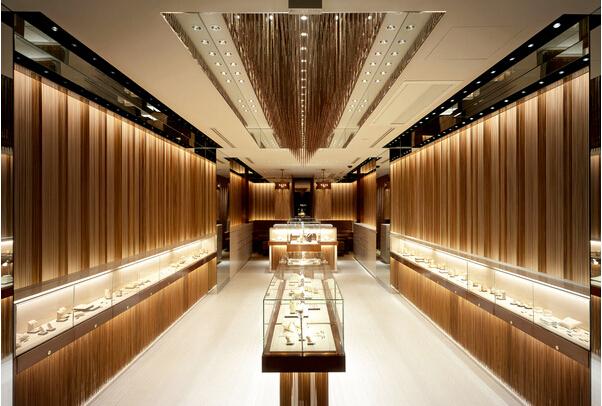 珠宝店led灯光设计方案——乐兰仕照明
